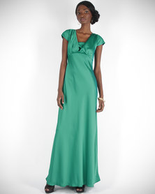 Hip Hop Pippa Long Dress Green