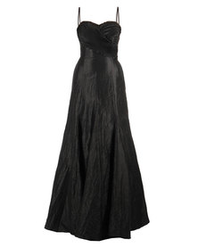Hip Hop Beaded Maxi Gown Black