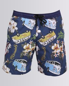 Holmes Bros East Coast Swim Shorts Multi