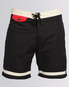 Holmes Bros No Bull Boardshorts Black
