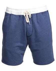 Holmes Bros Trainer Shorts Blue