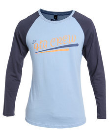 Holmes Bros HB Long Sleeve Crew T-Shirt Blue