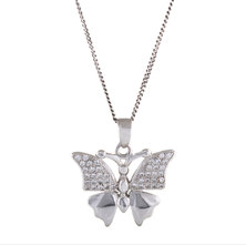 Homemark Infinity Prestige Jewel Collection Butterfly Pendant Necklace