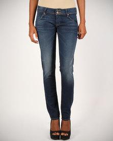 Hudson Collin Skinny Jeans Blue