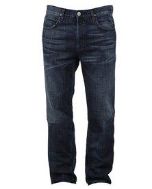 Hudson Dandy Straight Leg Jeans Blue