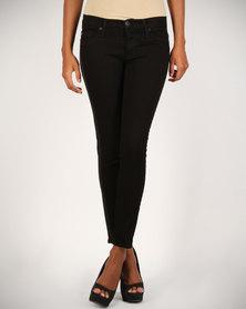 Hudson Lou Lou Skinny Jeans Black