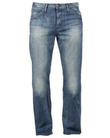 Hudson Webber Flap Pocket Jeans Blue