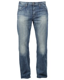 Hudson Webber Flap Pocket Jeans Blue