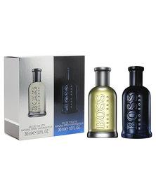 Hugo Boss Bottled 30ml & Hugo Boss Bottled Night 30ml Eau De Toilette Spray Gift Set