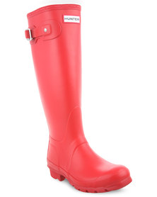 Hunter Original Tall Boots Red