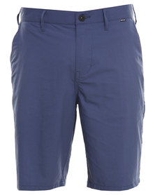 Hurley Dri-Fit Chino Walk Shorts Blue