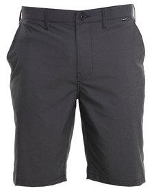 Hurley Dri-Fit Chino Walk Shorts Black