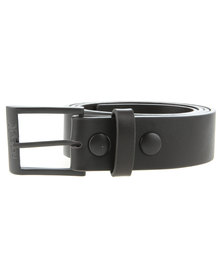 Hurley Leather Belt Brown