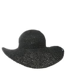 Hurley Topanga Straw Hat Black