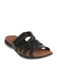 Hush Puppies Delite Flat Sandals Black
