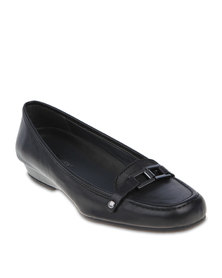 Hush Puppies Camira Court Shoes Black