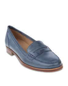 Hush Puppies Liane Loafers Blue