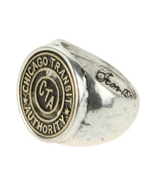 Icon Brand Chi Town Ring Silver-Tone
