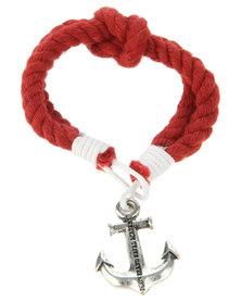 Icon Brand Captain Crunch Bracelet Red