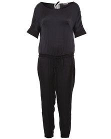 Ilan 3/4 Sleeve Jumpsuit Black