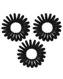 Invisibobble Hair Rings Set of 3 True Black