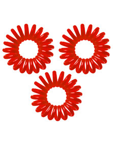 Invisibobble Hair Ring Set of 3 Raspberry Red