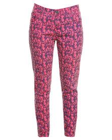 Iron Fist Kutna Denim Pants Pink