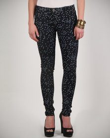 Iron Fist Starry Night Skinny Jeans Indigo
