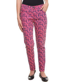 Iron Fist Kutna Denim Pants Pink