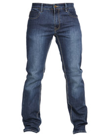 J Crew Brands Stretch Jeans Indigo