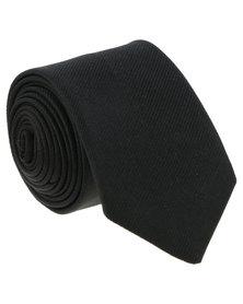 JCrew Thin Plain Reppe Black