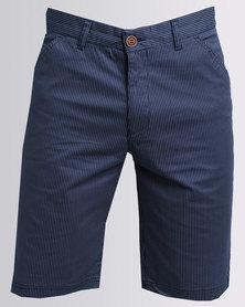 JCrew Stripe Shorts Blue