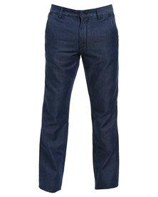 JCrew Chino Denim Jeans Indigo