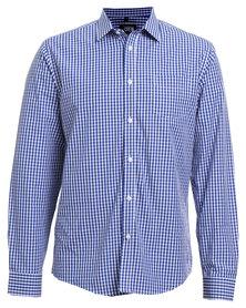 JCrew Check Shirt Blue