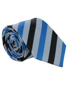 JCrew Diagonal Stripe Blue/Black