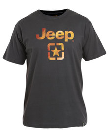 Jeep Short Sleeve Tee Graphite