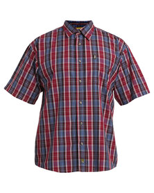 Jeep Short Sleeve Check Shirt