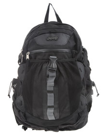 Jeep Hikers Backpack Black