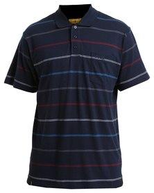 Jeep Yarn Dye Short Sleeve Golfer