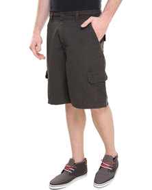 Jeep 24cm Inleg Shorts Charcoal