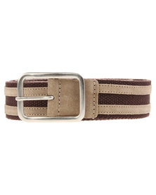 Jeep Webbing Belt Brown