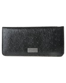 Jeep Leather Wallet Black