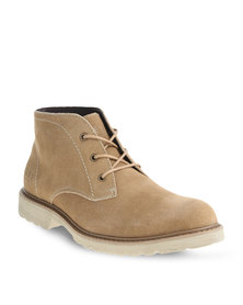 Jeep Lace Boots Camel