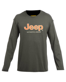 Jeep L/S Applique Tee Jungle