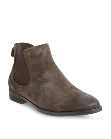 Jeep Chameleon Leather Boots Brown
