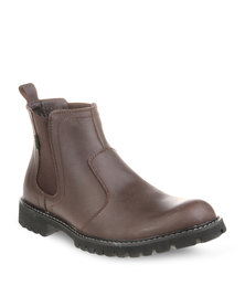 Jeep Colorado 2 Leather Boots Brown