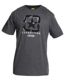 Jeep Short Sleeve T-Shirt Grey