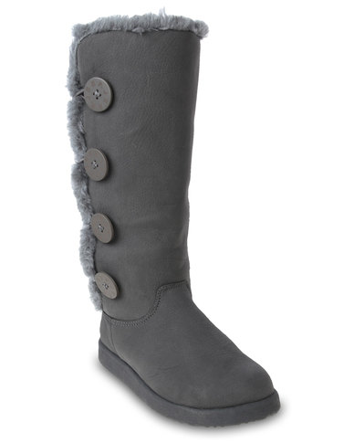Simple Jeep J41 Mountaineer Vegan Fur Lace Up Womens Boots KJ11MOU02 NEW