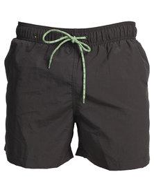 Jeep Swim Shorts Charcoal