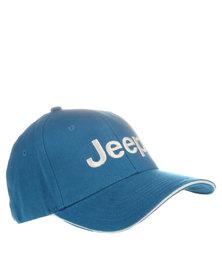 Jeep Cotton Twill Basic Cap Blue